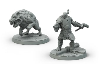 Fallout Wasteland Warfare Super Mutants Hammer