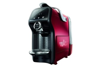 Lavazza Magia Coffee Machine with Milk Frother (Red) + 16 Lavazza Capsules