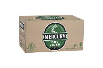 Mercury Dry Cider case 24 x 375mL Bottles