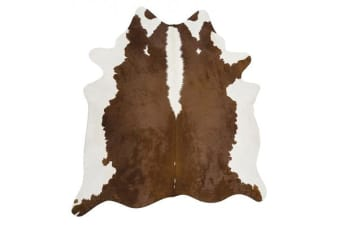 Exquisite Natural Cow Hide Hereford 170x180cm