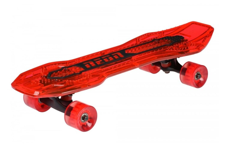 Yvolution Neon Cruzer Skate Board (Red)