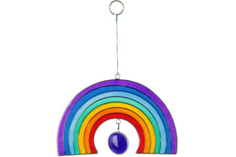 Something Different Rainbow Sun Catcher (Multicoloured) (One Size)