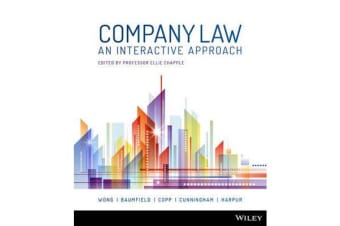 Company Law - An Interactive Approach 1E Open Book Exam Companion with Vitalsource Registration Code