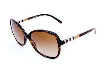 Burberry BE4197 58mm - Dark Havana (Brown Shaded lens) Womens Sunglasses