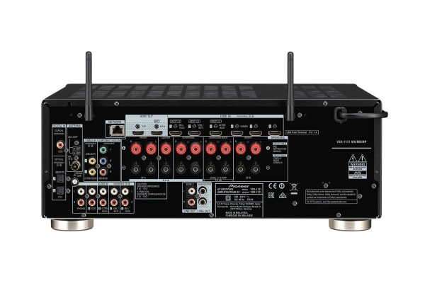 Pioneer 160W 7.2 Channel AV Receiver with 4K Ultra HD, Dolby Atmos, Wifi & Bluetooth (VSX1131)