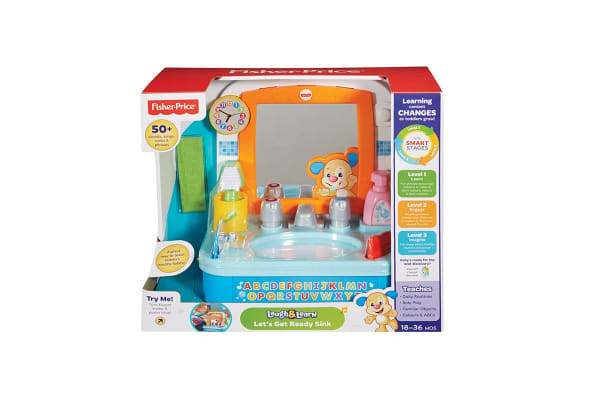 Fisher Price Let's Get Ready Sink