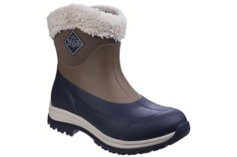 Muck Boots Unisex Arctic Apres Slip On Casual Winter Boots (Otter/Total Eclispse)