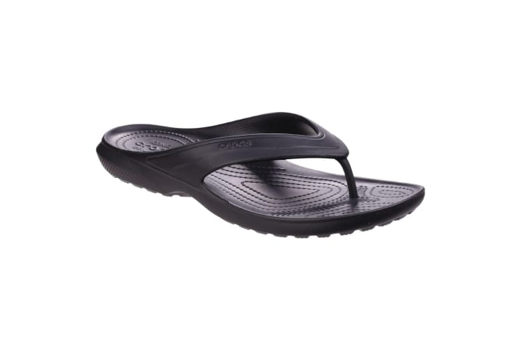 Crocs Unisex Classic Flip Flops (Black) (7 UK)