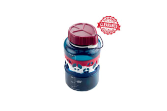 GSI Dukjug Bottle Col Band 0.75L Flasks Bottles Blue