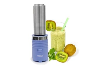 TODO Personal Health Blender with Thermo Stainless Steel Drink Bottle - Blue