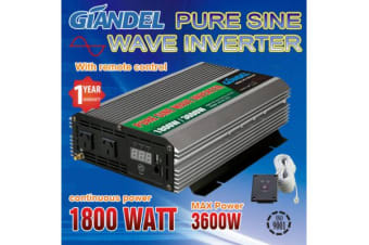 1800W Overload Protection Pure Sine Wave Inverter