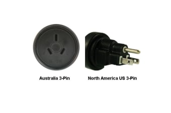 InLine Australia to North America US 3-pin Power Adapter Plug