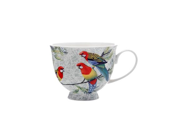 Maxwell & Williams Cashmere Birds of Australia Crimson Rosellas Treetop Mug 480ml
