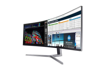 "Samsung LC49HG90DMEXXY computer monitor 124.2 cm (48.9"") QLED Curved Black"