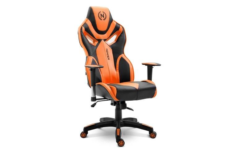 Awe Inspiring Gaming Office Chair Racing High Back Computer Seat W 13Cm Thick Seat Orange Ncnpc Chair Design For Home Ncnpcorg