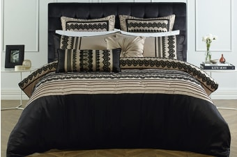 Bianca Juliette Quilt Cover Set (Queen)