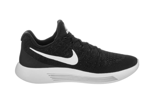 789303f03eae9 Nike Men s LunarEpic Low Flyknit 2 Running Shoe (Black White Anthracite