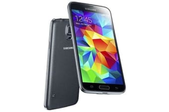 Used as Demo Samsung Galaxy S5 4G LTE 16GB Smartphone Black (AUSTRALIAN STOCK + 100% GENUINE)