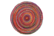 Chandra Braided Cotton Rug Multi