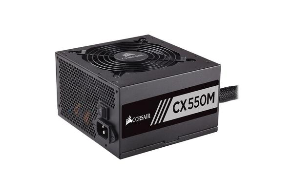 Corsair 550W CXM 80+ Bronze Semi-Modular 120mm FAN ATX PSU 5 Years Warranty