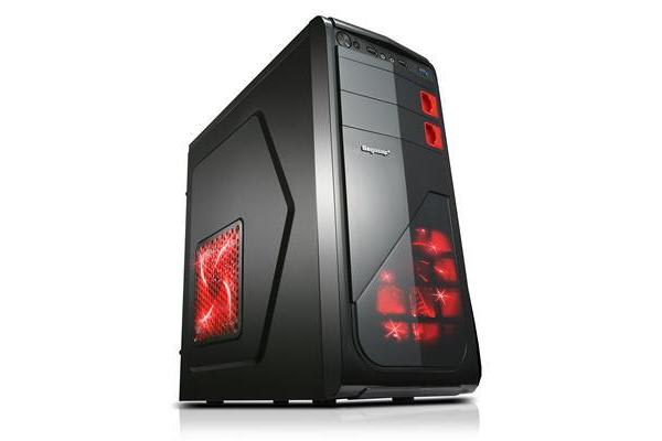 Segotep Racing ATX Mid Tower Case with Front 12CM LED Fan (No PSU) - Front USB 3.0/2.0 & HD Audio