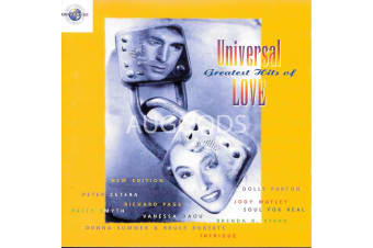 Universal Greatest Hits of Love NEW MUSIC ALBUM CD - AU STOCK
