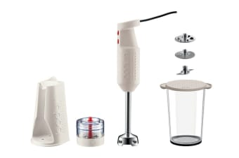 Bodum Bistro Set Electric Blender Stick with Accessories, Grinder & Stand (K11179-913AUS)