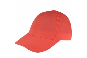 Regatta Great Outdoors Childrens/Kids Chevi Sports Cap (Neon Peach)
