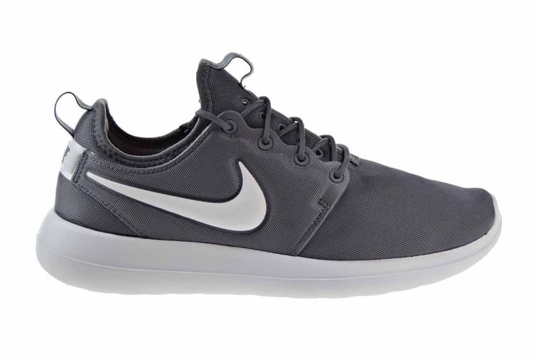 Nike Men's Roshe Two Shoe (Dark Grey/Pure Platinum/White, Size 8 US)