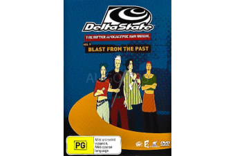 BLAST FROM THE PAST -Animated Series Region 4 Rare- Aus Stock DVD NEW