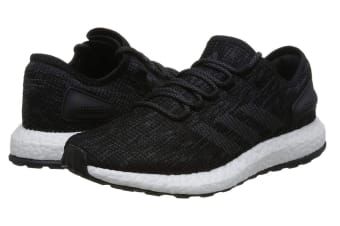 Adidas Men's PureBOOST Running Shoe (Core Black/Grey)