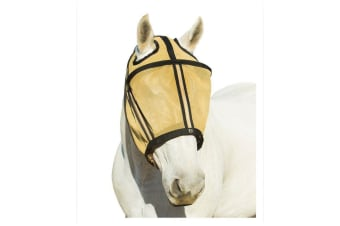 Noble Outfitters Guardsman Fly Mask No Ears (Noble Gold)