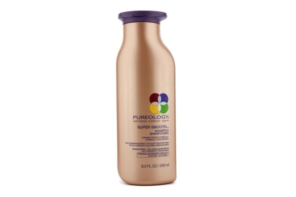 Pureology Super Smooth Shampoo (For Unmanageable Colour-Treated Hair) (New Packaging) (250ml/8.5oz)