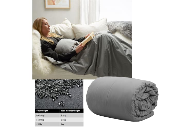 Weighted Calming Blanket 6.8kg Single by Accessorize
