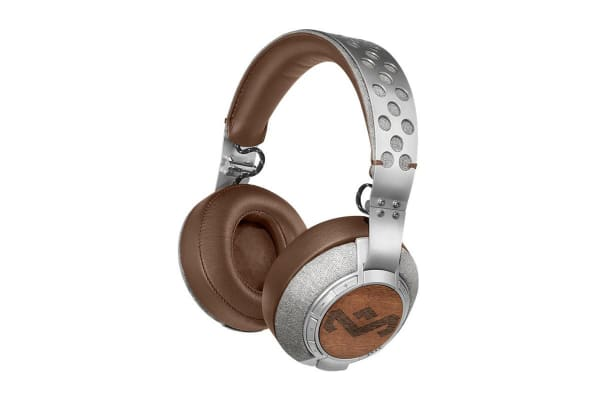 Marley Liberate XL Over Ear Bluetooth Headphones - Saddle (EMFH041SD)