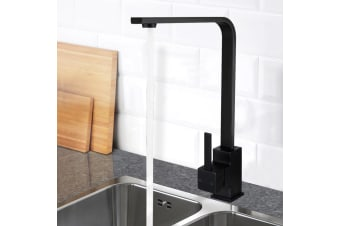 Cefito Brass Mixer Faucet Taps Kitchen Tap Sink Shower Bath Swivel WELS Black