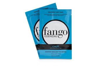 Borghese Fango Essenziali Calm Treatment Sheet Masks 4x25ml/0.83oz