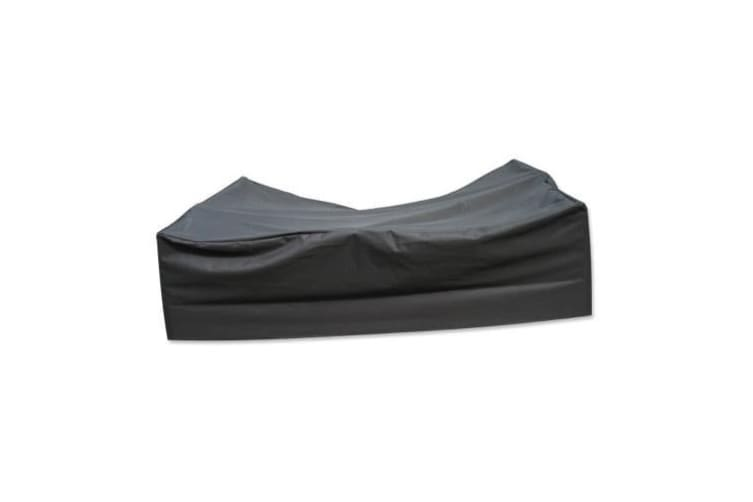 PVC Coated Polyester Waterproof Outdoor Furniture Cover 8 Seater - 3.3m x 2.2m x 0.9m