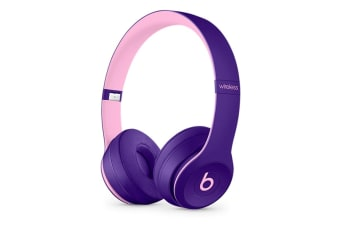 Beats Solo3 Wireless Headphones (Pop Violet)