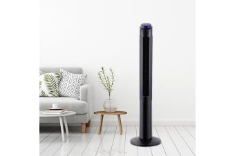 122cm 48 Tower Fan Oscillating Remote Timer 3 Speed Portable Bladeless Fans