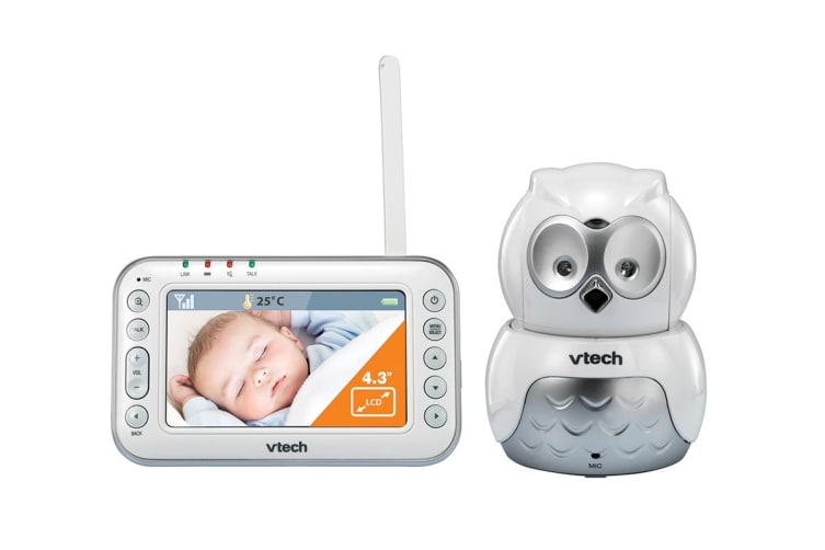 Vtech BM4500-Owl Safe And Sound Video & Audio Baby Monitor