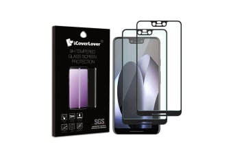 For Google Pixel 3 XL [2-Pack] Full Edge to Edge Tempered Glass Screen Protector