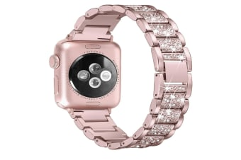 Bling Bands Compatible Apple Watch Band Metal Replacement Wristband  42mm