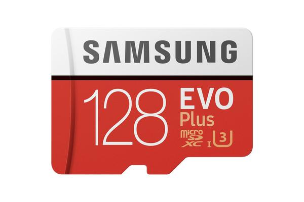 Samsung EVO PLUS 128GB Micro SDXC with Adapter