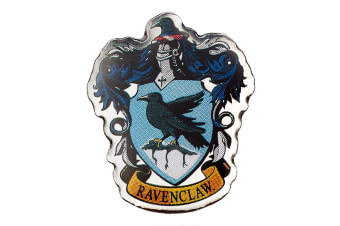 Harry Potter Ravenclaw Badge (Blue) (One Size)