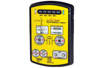 ZTS MINI-MBT Battery Tester For Primary  Rechargeable Batteries