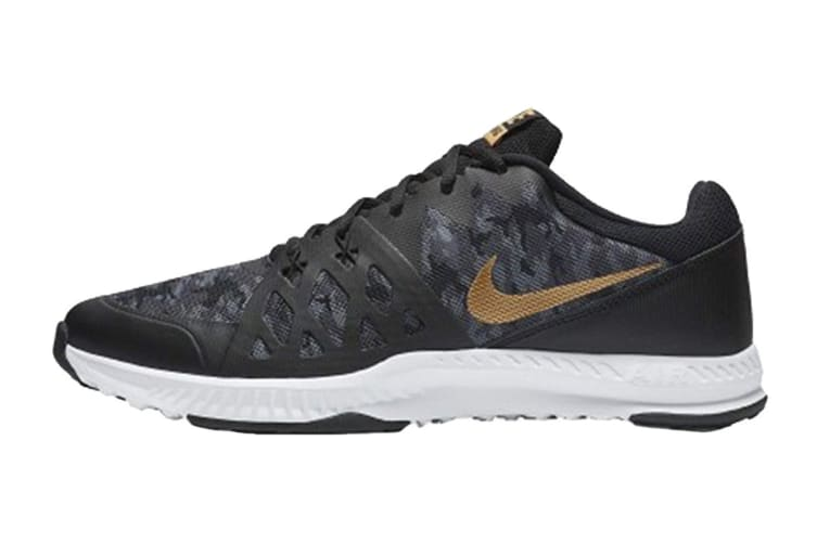 d61809a9ff Nike Men's Air Epic Speed TR 2 SP Shoes (Black/Metallic Gold, Size 9)