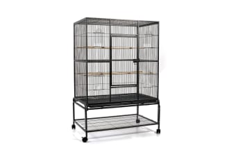 Pet Bird Cage Large 140CM (Black)