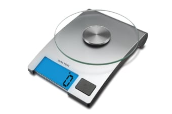 Salter Glass Electronic Kitchen Scale (1021SVDR)