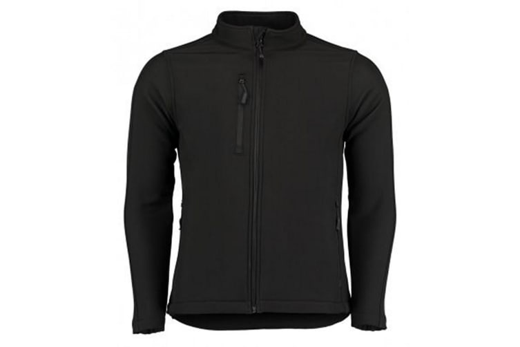 Kustom Kit Womens/Ladies Corporate Soft Shell Jacket (Black) (8)